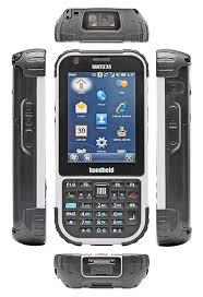 Handheld nautiz X4 data collector