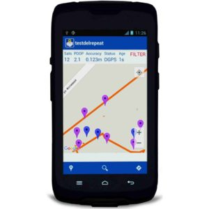 Spectra Mobile mapper 50 data collector