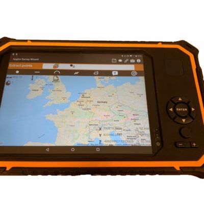 Apglos armor data collector tablet