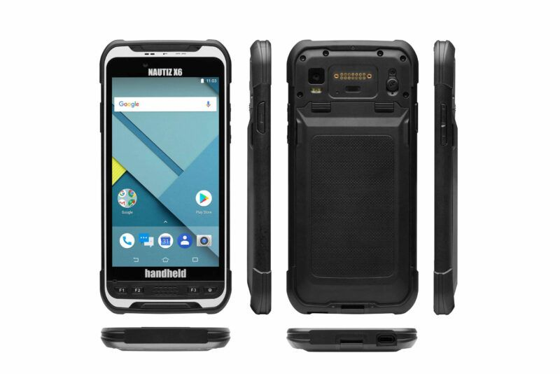 Handheld nautiz X6 data collector