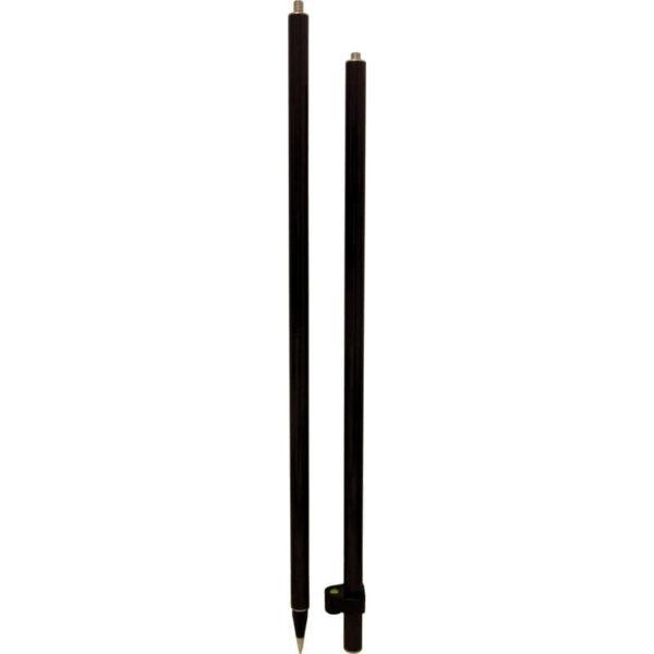Carbon fiber pole 2x 1 meter soft grip levelling bubble