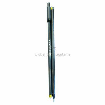 Carbon fiber pole 2x 1 meter soft grip levelling bubble