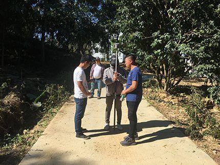 Lidar surveying with UAV