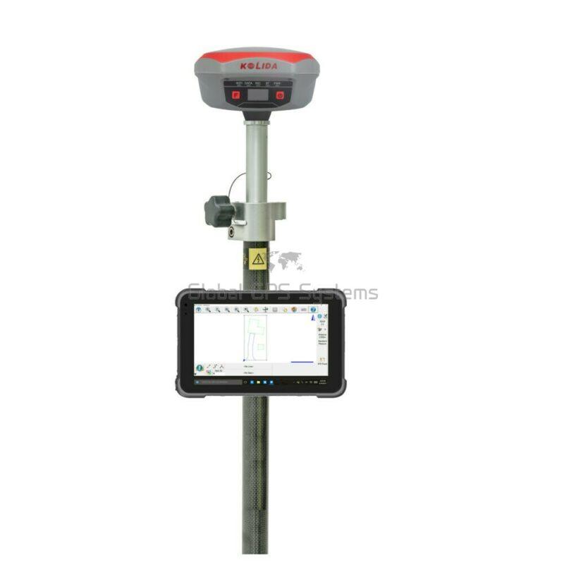 Kolida K1 Pro RTK GPS GNSS receiver rover set with HR842