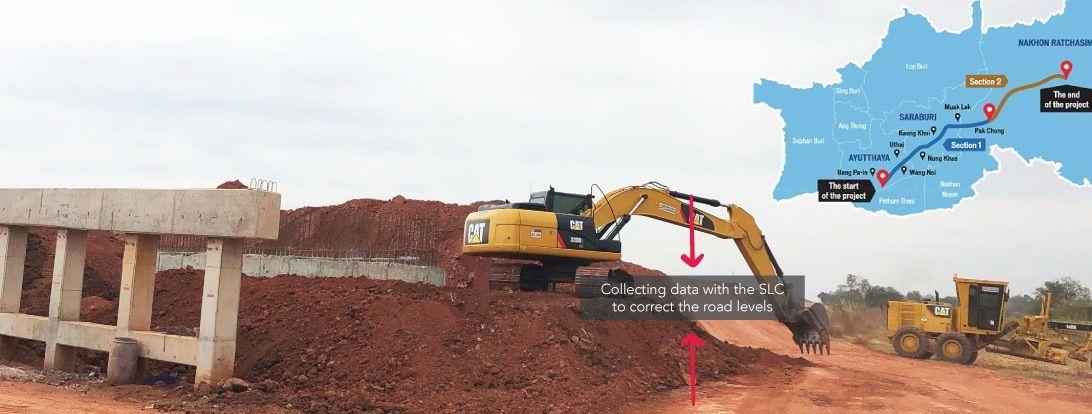 Satlab Road construction SLC SL600 SLX-1NG