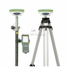 Satlab SL900 RTK GNSS GPS receiver Rover Base set with SHC30 controller and satsurv