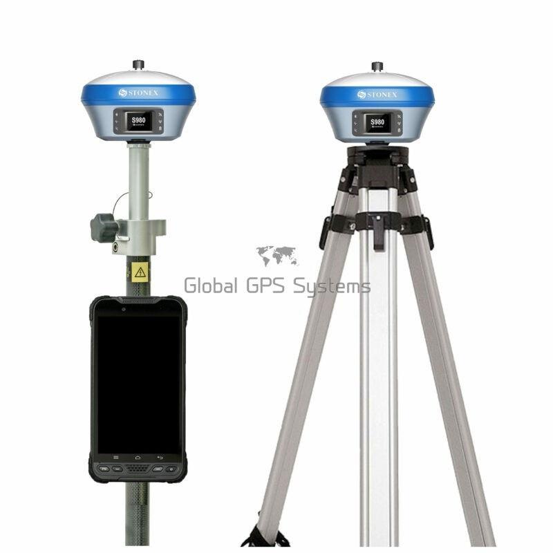 Stonex S980 RTK GPS GNSS receiver rover base set with UT10