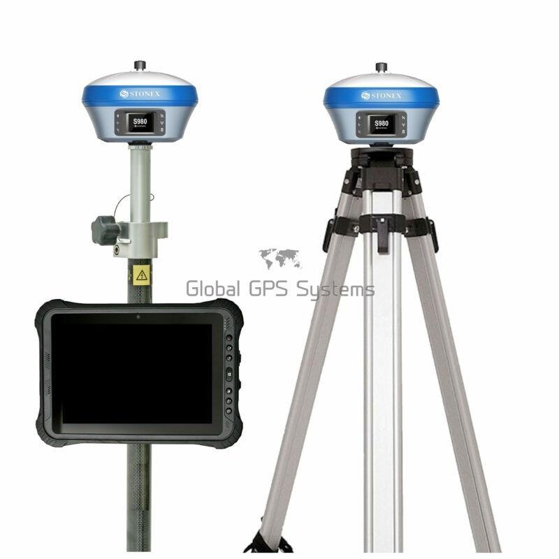 Stonex S980 RTK GPS GNSS receiver rover base set with UT50
