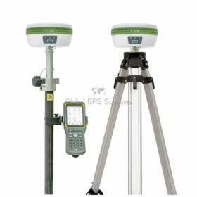 Satlab SL700 RTK GNSS GPS receiver Rover Base set with SHC30 controller and satsurv