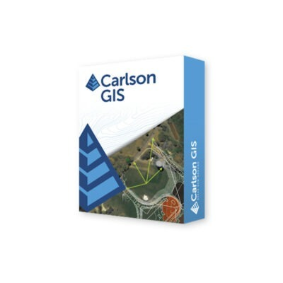 Carlson GIS Provides tools for geo-referenced images, data capture and linking, data labeling, import/export of SHP files, polygon topology creation and analysis, and supports working with Esri®.