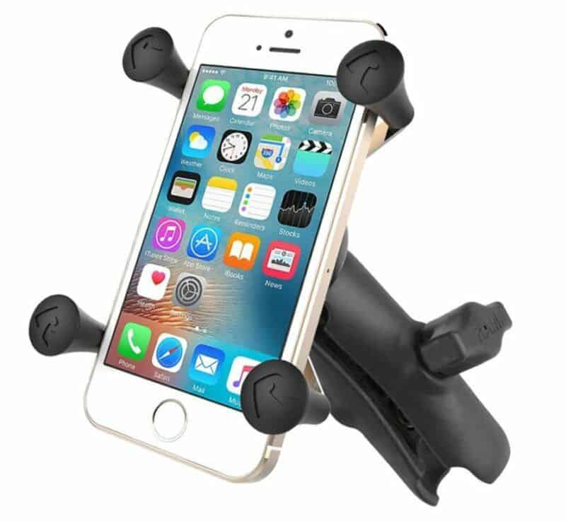 smartphone bracket with pole mount